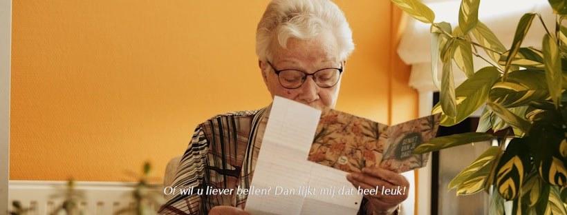 Een glimlach van ouderen in een bijzondere tijd